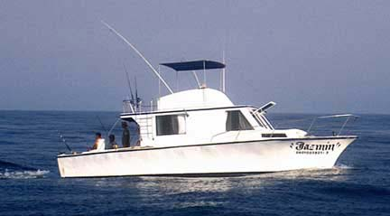 Mexico Fishing Charters Boat