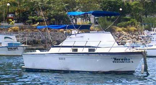 Mexico Fishing Charters Boats